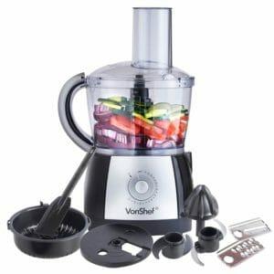VonShef 2.5L Powerful Food Processor